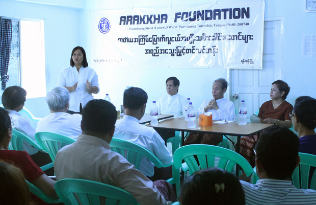 Empowering training for Arakanese women held in Yangon